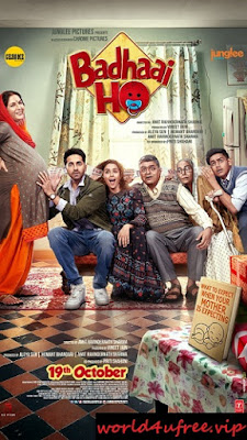 Badhaai Ho 2018 Hindi Movie Pre-DVDRip 700Mb Download