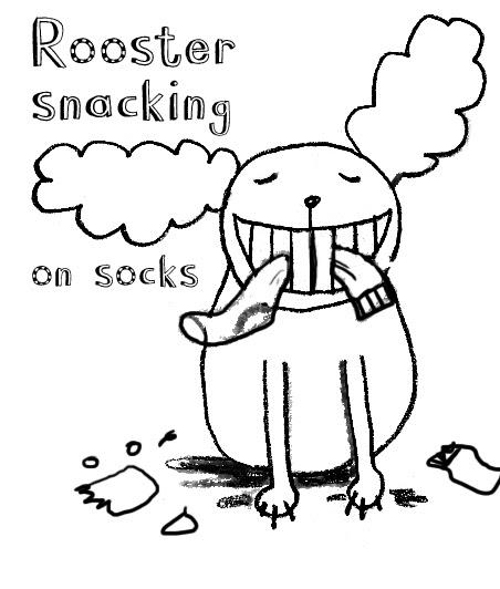 Tom Gates Brilliant World: Sock snacks