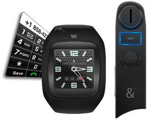 Kemplar & Strauss' W Phone - the world's smallest watch phone