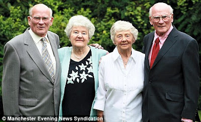 Roy and Joyce Sinton and Frank and Irene Sinton