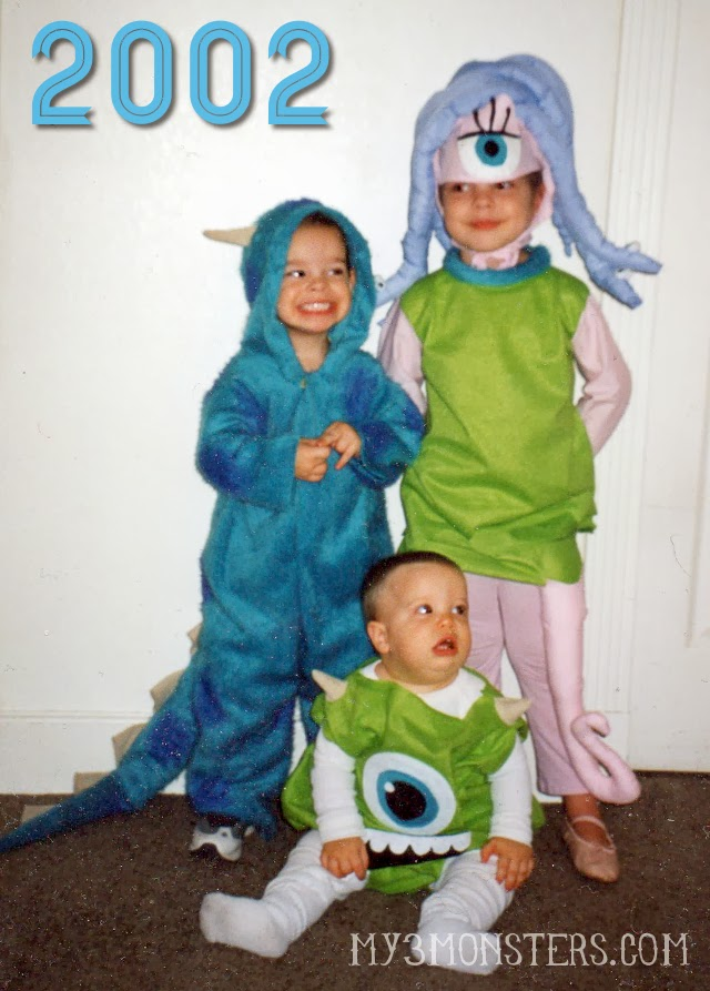 cd83b6d15ff2 Celebrate  MonstersU With These DIY Mike And Sully Hoodies At  My3monsters.com Sc 1 St My 3 Monsters