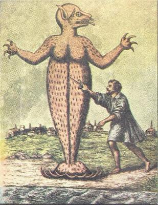 O monstro que aterrorizou Cananeia