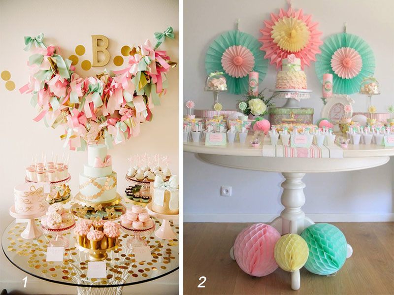 ideas deco party babys