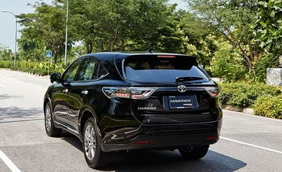 All New Toyota Harrier Indonesia