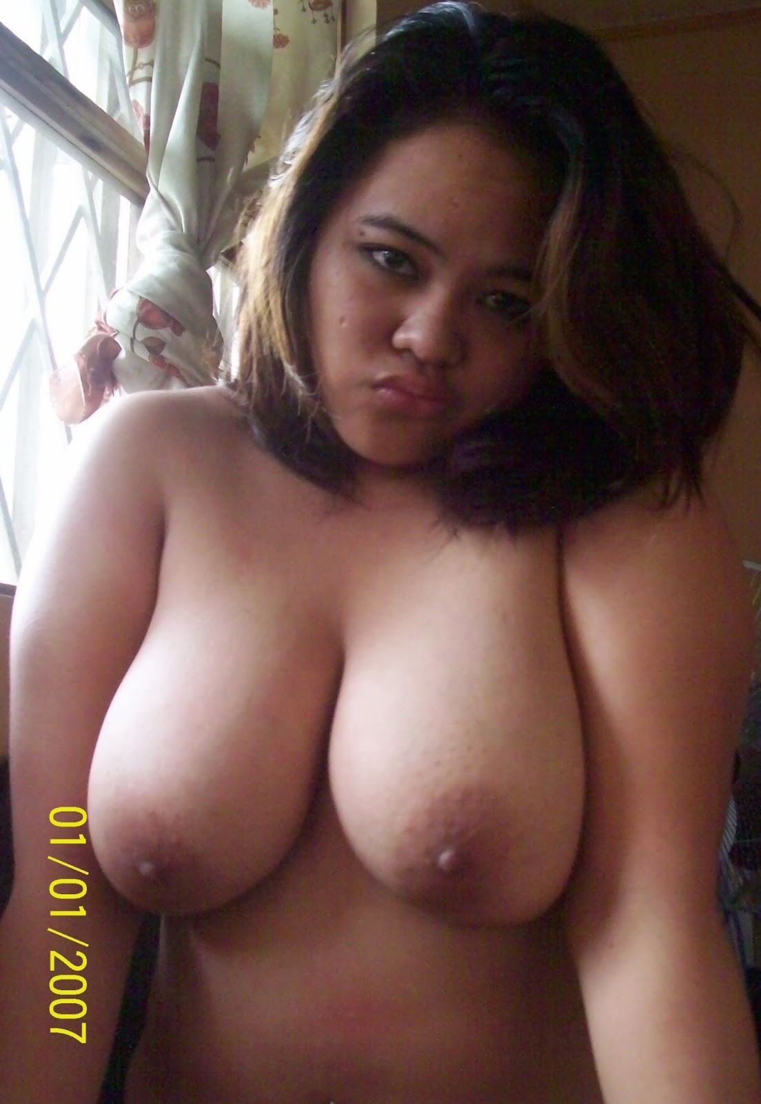 Nude sister huge boobs