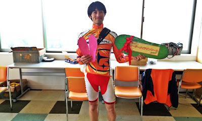 札幌手稲山で鍛えた脚でKOMを獲った、チームCYCLES WAKASAの小山田選手!