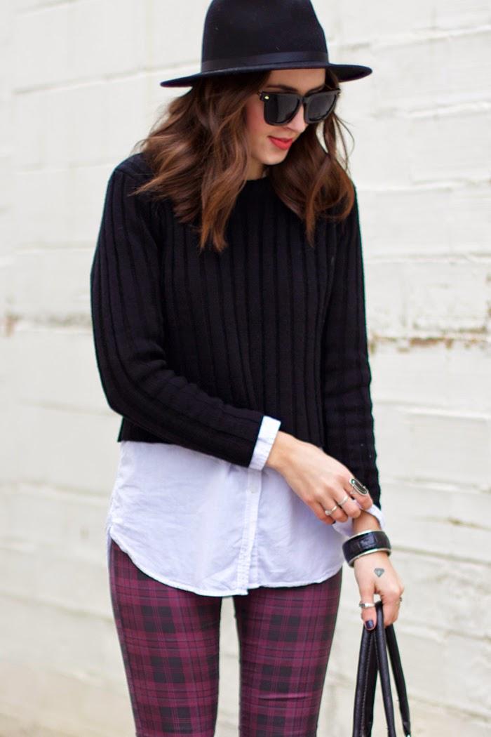black-crop-sweater
