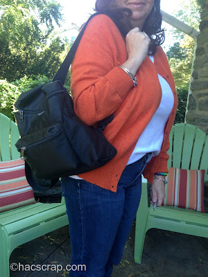 Microfiber Kate Spade Backpack