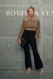 Camille Charriere At Bottega Veneta Show At New York Fashion Week 2018