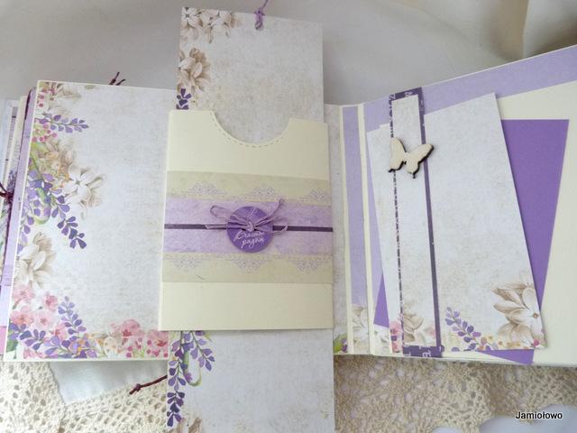 papier do scrapbookingu Craft&You w albumie