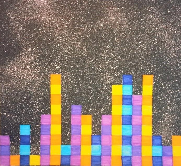 a faithful attempt: Pi (π) City Skyline