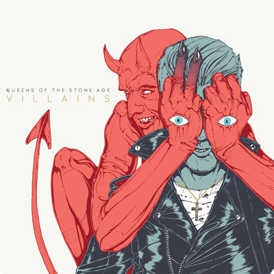 The 10 Worst Album Cover Artworks of 2017: 09. Queens Of The Stone Age – Villains