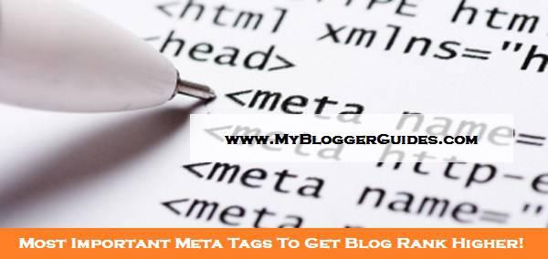 Meta Tags, Important Meta Tags, Meta Tags for SEO