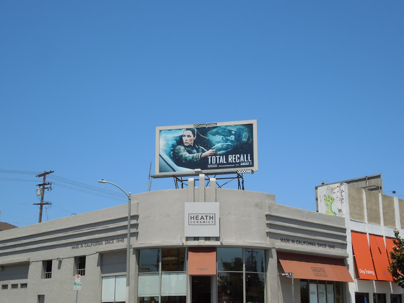 Total Recall billboard