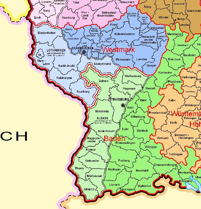 Landkartenblog: Verwaltungskarte des Deutschen Reichs 1944