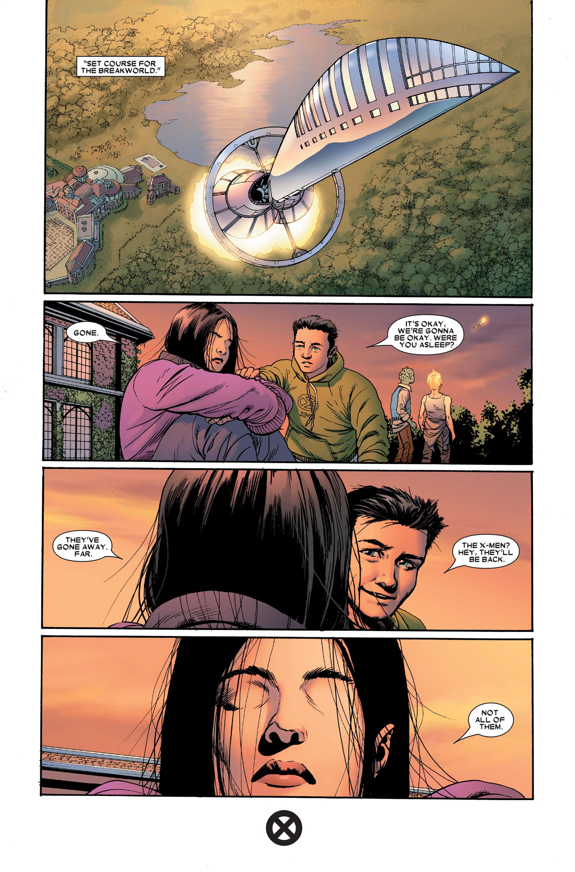Read online Astonishing X-Men (2004) comic -  Issue #18 - 24