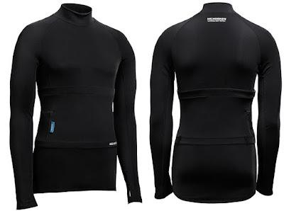 Hexoskin Arctic Smart Shirt