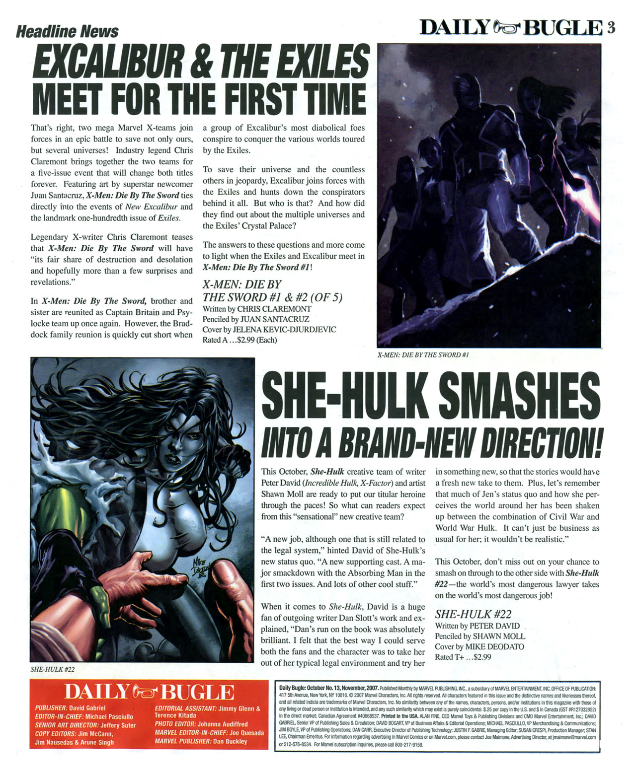 Read online Daily Bugle (2006) comic -  Issue #13 - 4