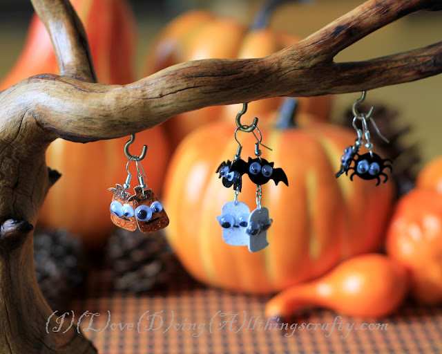 Cute Spooky DIY Halloween Earrings | SVGCuts