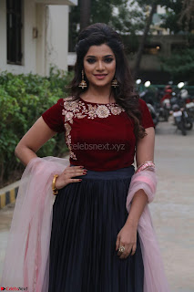 Actress Aathmika in lovely Maraoon Choli ¬  Exclusive Celebrities galleries 008.jpg