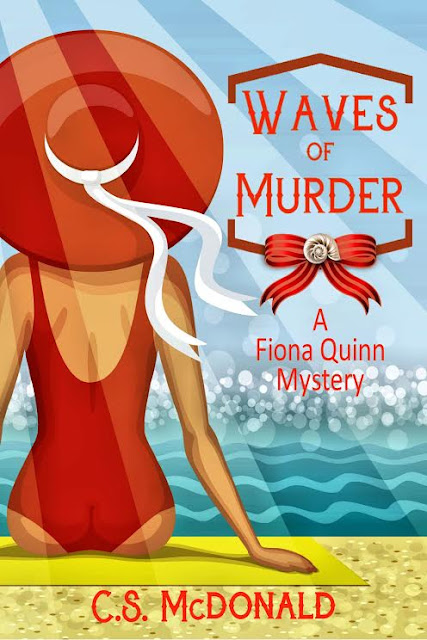 Waves of Murder by C.S. McDonald – Guest Post + Giveaway