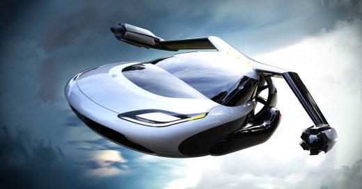 Estos cuatro carros futuristas están listos para despegar