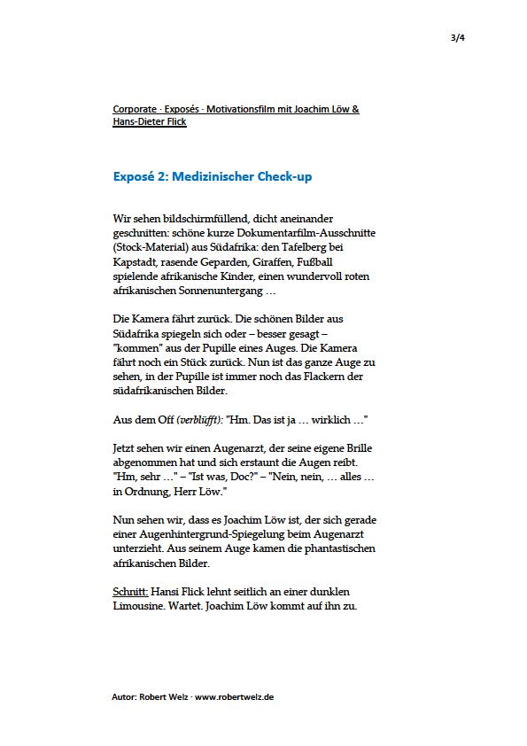 Drehbücher, Exposés, Off-Sprecher-Texte, Unternehmensfilme, Finanzvertrieb, Joachim Löw, Fußball, interne Kommunikation, schreiben, Texter, Autor, Köln