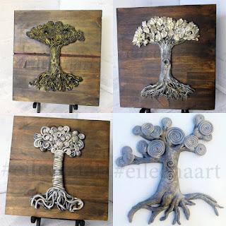 eileenaart tree of life series 2014