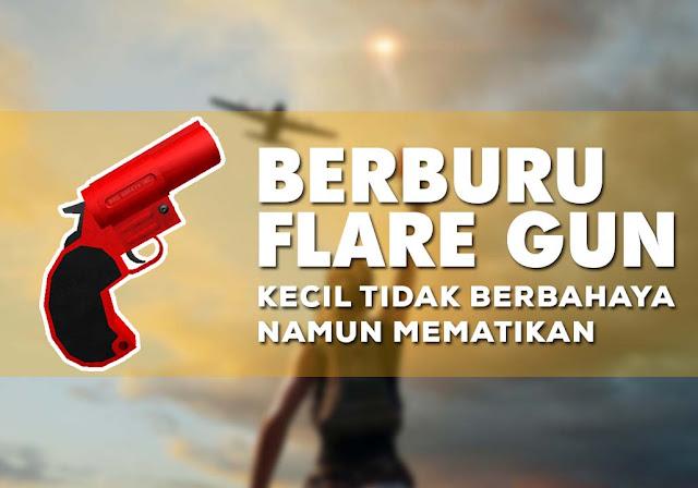 Memahami Cara Mendapat Flare Gun PUBG Mobile Terbaru
