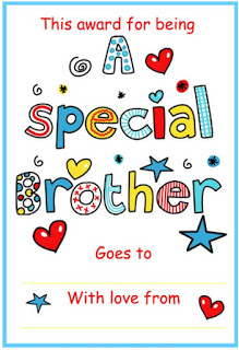 special brother certificate