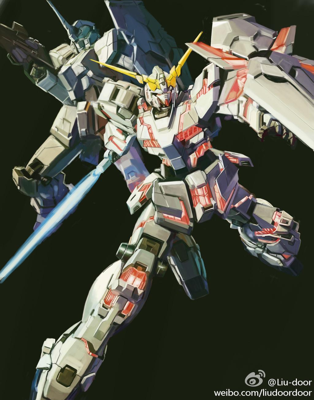 Mg Unicorn Gundam Box Art Tutorial Gundam Kits