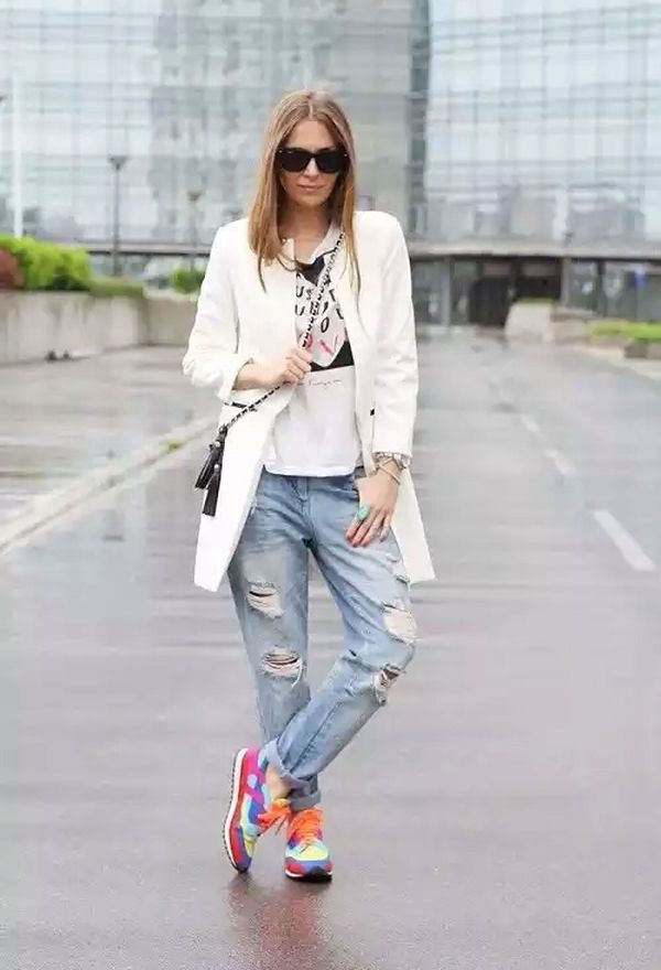 Outfits con zapatillas