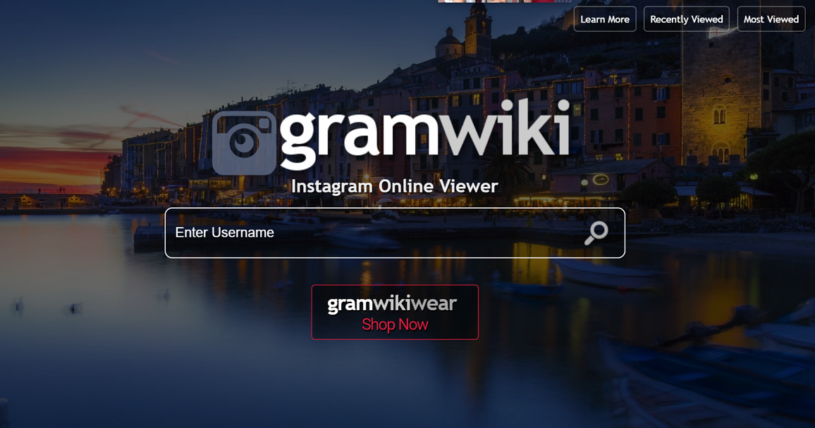 輸入 ID 線上查詢 Instagram 用戶統計信息,GramWiki - IG 查看器 - 逍遙の窩