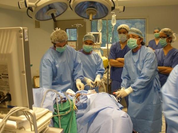 operación laparoscópica adenom de prostata