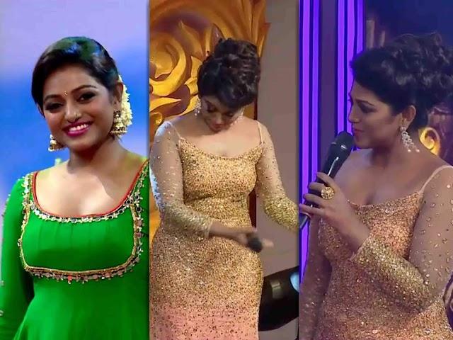 Anchor Meera Anil Hot Photos