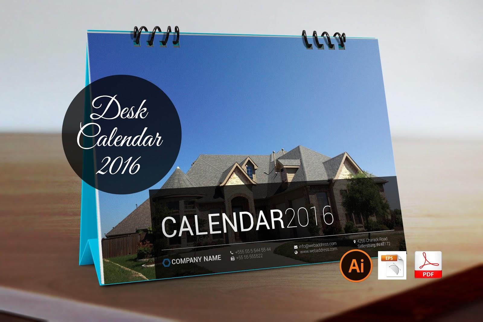 2016 desk calendar get the latest 2016 calendar for your company