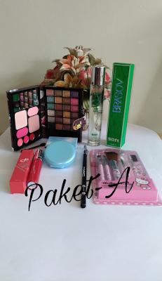 Paket Kosmetik A dan B | Paket Kecantikan | Kosmetik Lampung | Kosmetik Metro | Kosmetik Jakarta