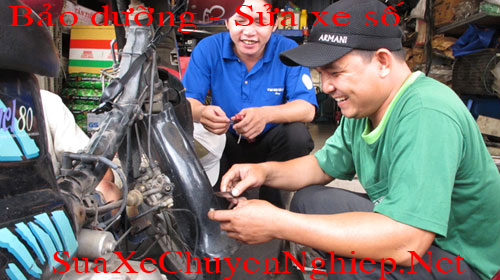 Bảo dưỡng xe máy, Sửa xe số chuyên nghiệp tại Tphcm