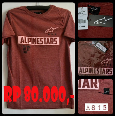 Kaos Distro Surfing Skate ALPINESTAR Premium Kode AS15