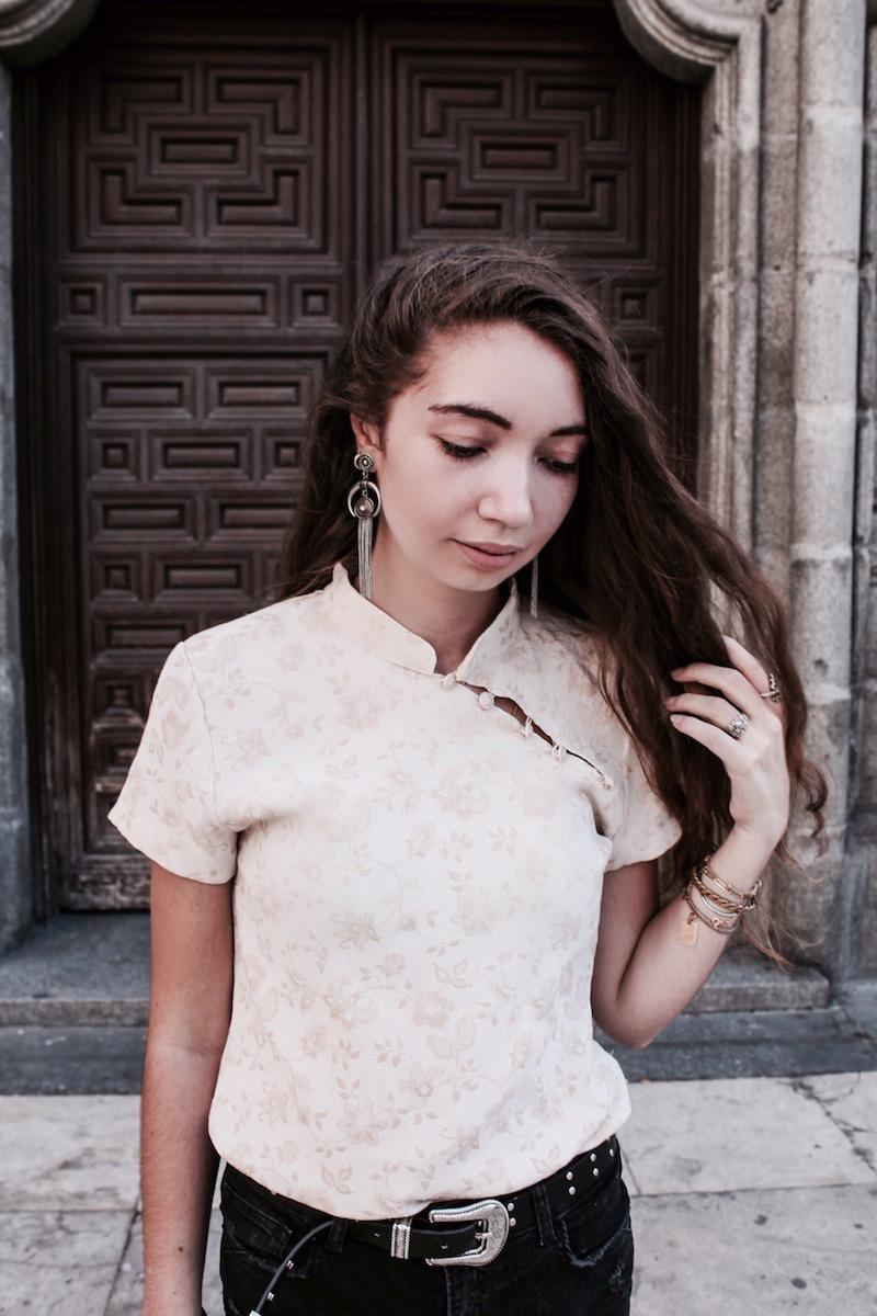 street style juin 2017 Madrid blogueuse mode