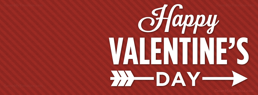 happy valentines day 2018 facebook cover