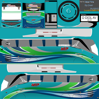 Download Kumpulan Livery Bus Simulator Indonesia BUSSID 5