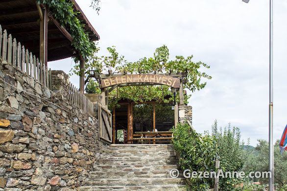 Ormancı türküsünün geçtiği Belen kahvesi, Gevenes köyü Muğla