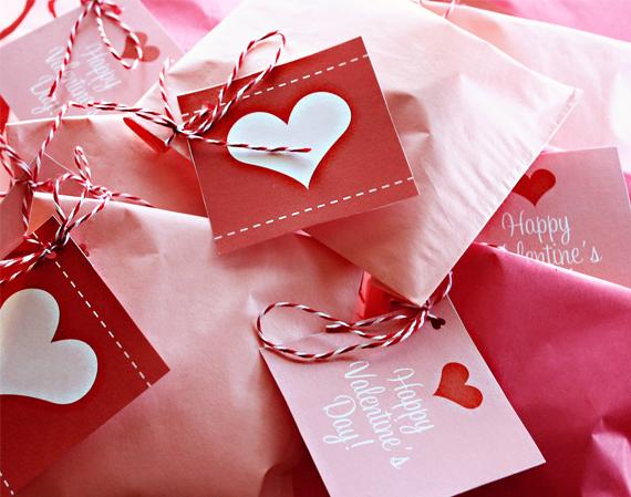 Alla hjärtans dag papperspyssel