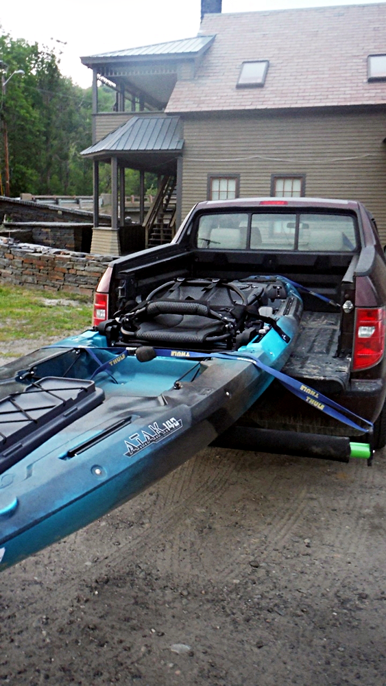 MAN POWERED FISHING: Wilderness Systems ATAK 140 Review