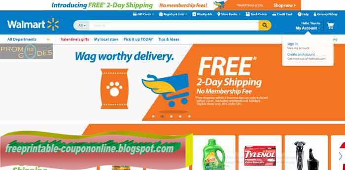 Walmart free prints coupon code