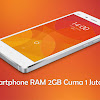 5 Smartphone Android Ram 2Gb Cuma 1 Jutaan