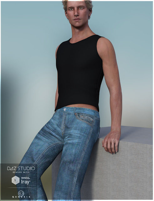 Chilled Out Outfit for Genesis 3 Male