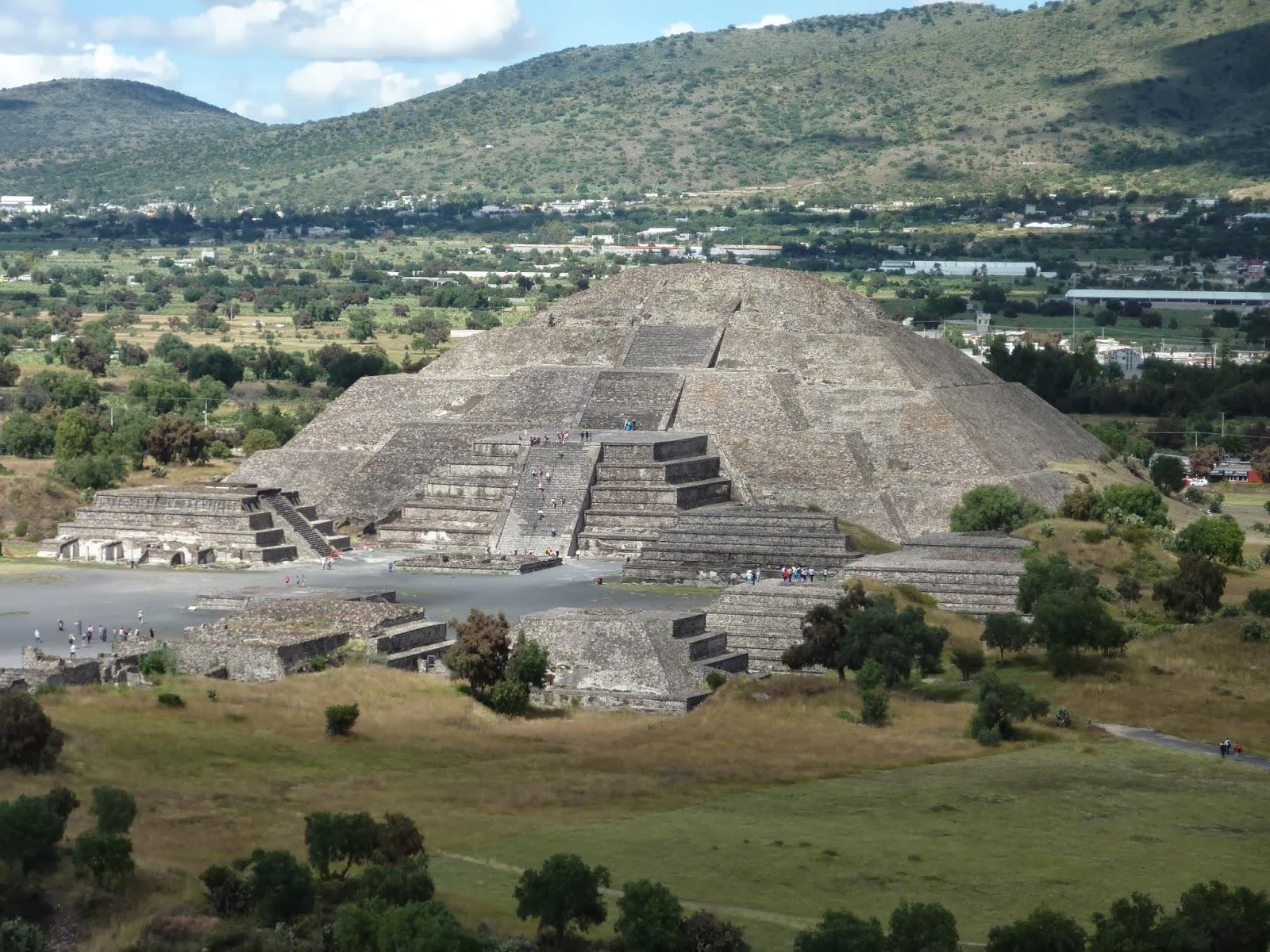 Tequila Tabasco Tamales Teotihuacan Pyramids