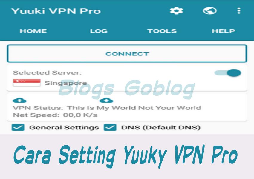 Cara Mudah Setting Yuuki VPN Pro Telkomsel VideoMax Terbaru Terbaru